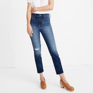 Madewell perfect vintage crop in Bellbrook wash